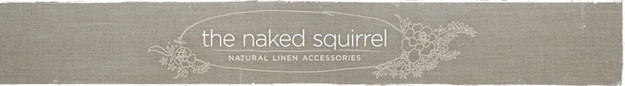 natural linen accessories to personalize the home